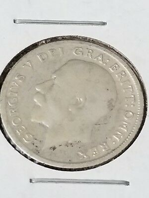 1924 Silver Great Britain Six Pence