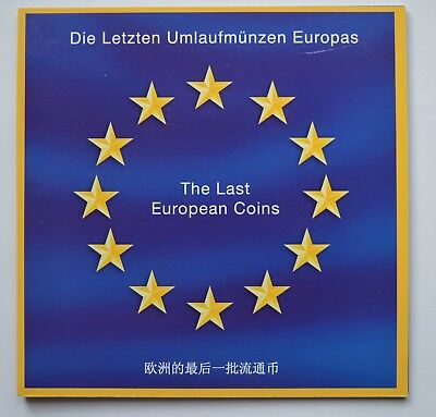 The Last European Coins 10 Uncirculated Coin Set
