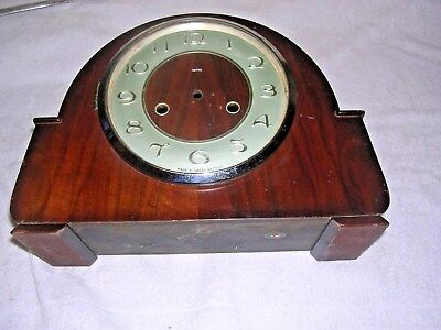 CLOCK  PARTS , CLOCK CASE, SMITHS   GOOD ac