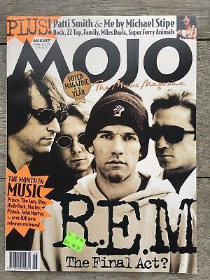 MOJO Magazines R.E.M. (2) issues November 1994 & August 1996