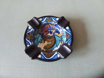 vintage Gouda ash tray pin tray or pen rest.