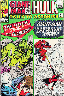 TALES TO ASTONISH 62 - 1st APP LEADER (SILVER AGE 1964) - 7.5