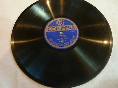 """""""SIAM SOO"""" Columbia 78 Rpm Phonograph Record - Very Good Condition"""