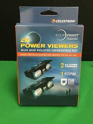 Eclip SMART 2x Viewers Sun and Eclipse Solar Safe X2