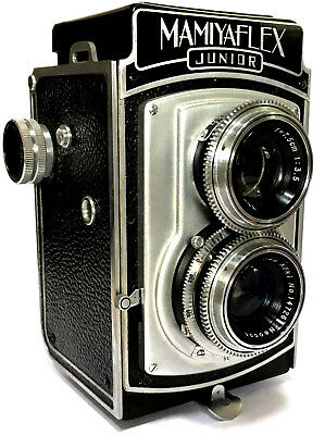 RARE, VINTAGE MAMIYAFLEX TWIN LENS REFLEX Camera 120 FILM 6x6 TLR MEDIUM FORMAT