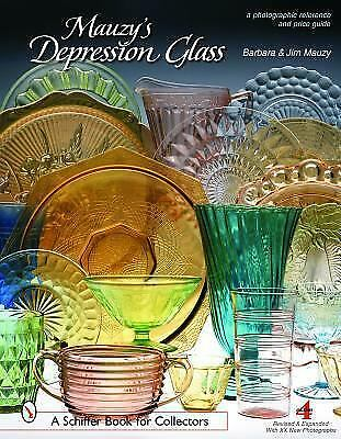 Mauzy's Depression Glass: A Photographic Reference With Prices-ExLibrary