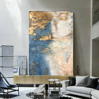 YA934 Large Modern Wall decoration art Hand-Painted Abstract oil painting
