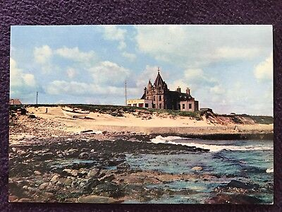 Old POSTCARD - JOHN O'GROATS HOTEL from the shore, CAITHNESS, SCOTLAND