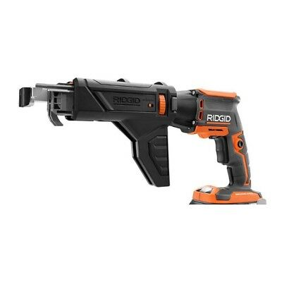 """RIDGID 18V Volt 1/4"""" Brushless Drywall Screwdriver & Collated Attachment  R86630"""