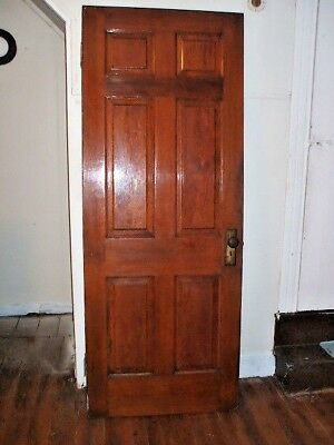 DOOR - Antique - for Passage -  oak raised panel door