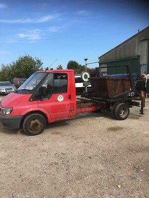 Ford transit mini skip