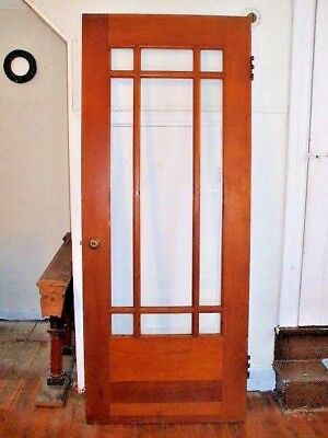 DOOR - Antique  Nine Pane Door - Beautiful!