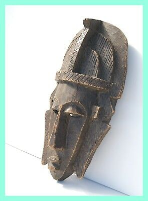 MARKA TRIBE MASK - Wood Carved Mask. From Cote D'evoire