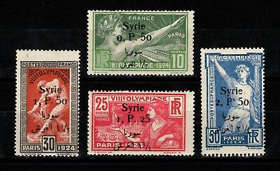 Syria 1924 Olympic Games set of MNH SG139/142 SG Cat £60.00+