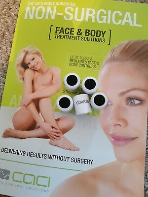 Caci Microdermabrasion Size Coarse Tips - Brand New August 2018 Stock