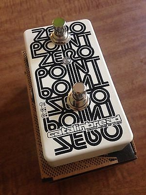 Catalinbread Zero Point Flanger Analog to Studio Tape Flange Guitar Pedal NEW