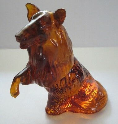 "Vintage Avon Canada ""colley""  Dog Decanter Bottle --W/contents--"