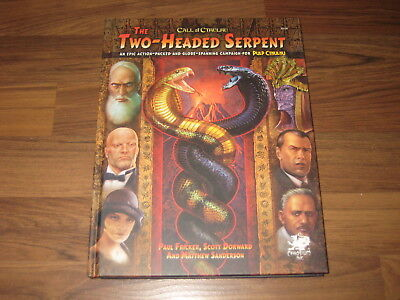 Call of Cthulhu The Two Headed Serpent Campaign HC Chaosium Inc. New 2017