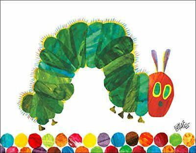 Oopsy Daisy Fine Art for Kids Eric Carle's The Very Hungry Caterpillar Canvas by