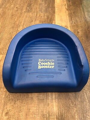 Baby Smart Toddler Cooshee Booster Seat Blue Soft Foam CooshieClassic Chair