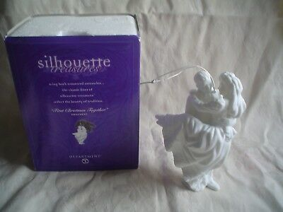 Dept 56 Silhouette Treasures, First Christmas Together, Ornament With Box