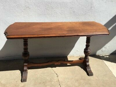 "Antique Sofa Table 52"" Long Wood Local Pick Up  So. CA"