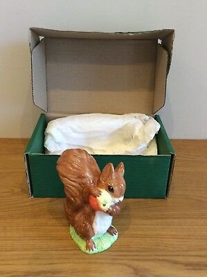 "Beswick Figurine ""Squirrel Nutkin"" Beatrix Potter Boxed Available Worldwide"