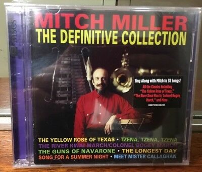 Mitch Miller: The Definitive Collection, Brand New 2 CD Set