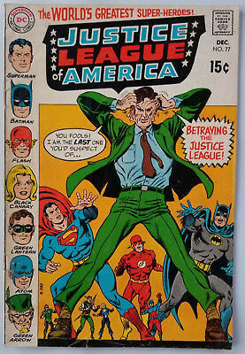 Justice League of America # 77 VG+ condition