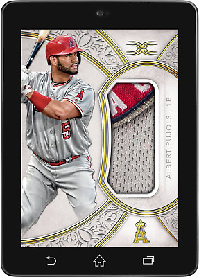 Topps BUNT Albert Pujols RELIC DEFINITIVE 2018 DROP 4 [DIGITAL CARD] 150cc