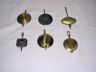 Clock  Parts    6  Clock  Pendulums