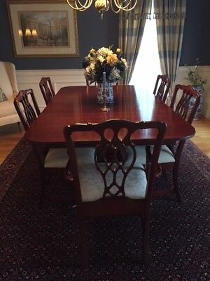 Hitchcock Cherry Dining room set w/6 chairs & sideboard-Excellent condition-