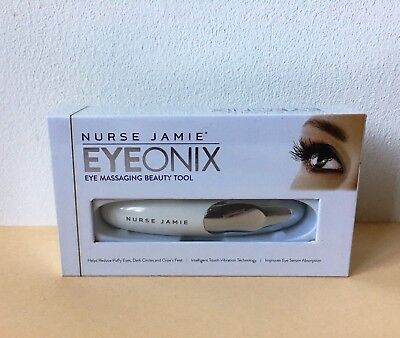 BNIB Nurse Jamie Eyeonix Eye Massaging Beauty Tool Intelligent Touch Vibration
