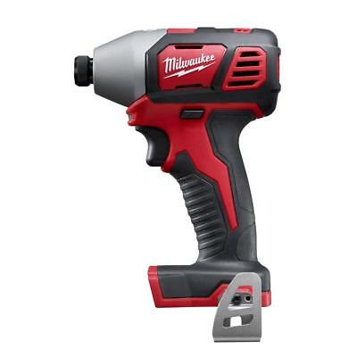 Milwaukee 2656-20 M18 Lithium-Ion 1/4 in. Cordless Hex Impact Driver (Tool-Only)