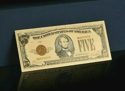 """☆ <> OLD STYLE """"GOLD"""" $2.00 GOLD CERTIFICATE Two DOLLAR Rep.*Banknote~ ☆"""