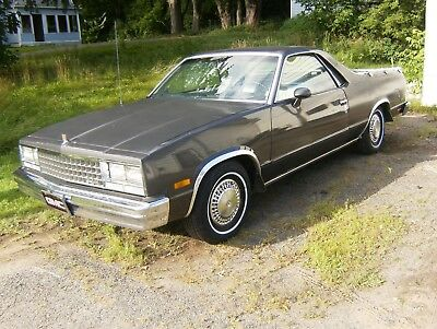 1982 GMC caballero pickup truck gmc caballero not chevy el camino rare vintage other orig miles 99 rust free