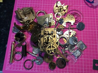 750g watch/clock/barometer parts for spares/crafts