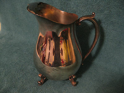 Eales 1779 Silver Plated Water Pitcher (item# A 073)