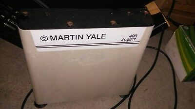 Martin Yale 400 Series Tabletop Jogger Tested And Working