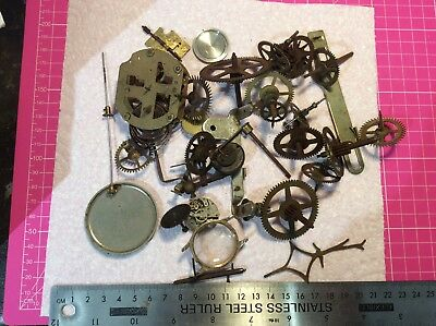 750g watch/clock parts for spares/crafts