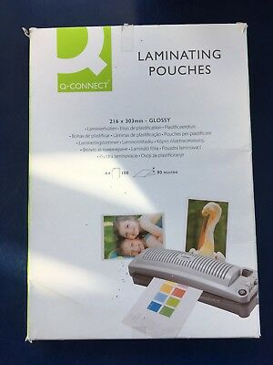 A4 Laminating Pouches 216 X 303Mm - Glossy New