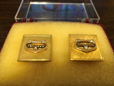 Vintage TENNECO Oil Gas Logo Cuff Links – Retirement Gift