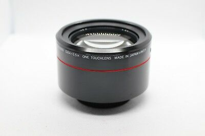 2 in 1 Combo Wide Angle 0.6x - 1.5x Macro Tele Lens ONE TOUCHLENS 55mm CRx6900