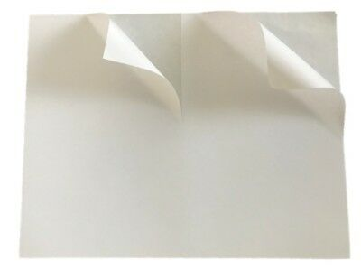 50 Half Sheet Shipping Labels Square Corner 8.5 x 5.5 in. Self Adhesive
