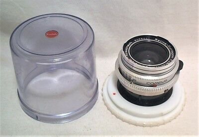 Kodak Retina Schneider Curtagon 35Mm 2.8 Fast Wide Angle - Clean In Bubble Case