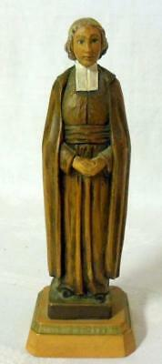 Anri Martin Luther Hand Carved Wood Carving