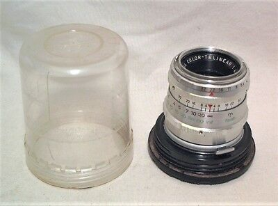 Agfa Color-Telinear 90Mm 1:4 For Ambiflex - Clean In Bubble Case