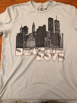Mens Vintage Beastie Boys 5 Boroughs T Shirt Sz L 2010
