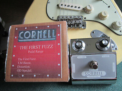"Denis Cornell ""The First Fuzz"" with Original NOS NKT 275's - Rare and Killer!"