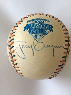 1992 San Diago All Stars Game Signed Baseball - Archive Collection